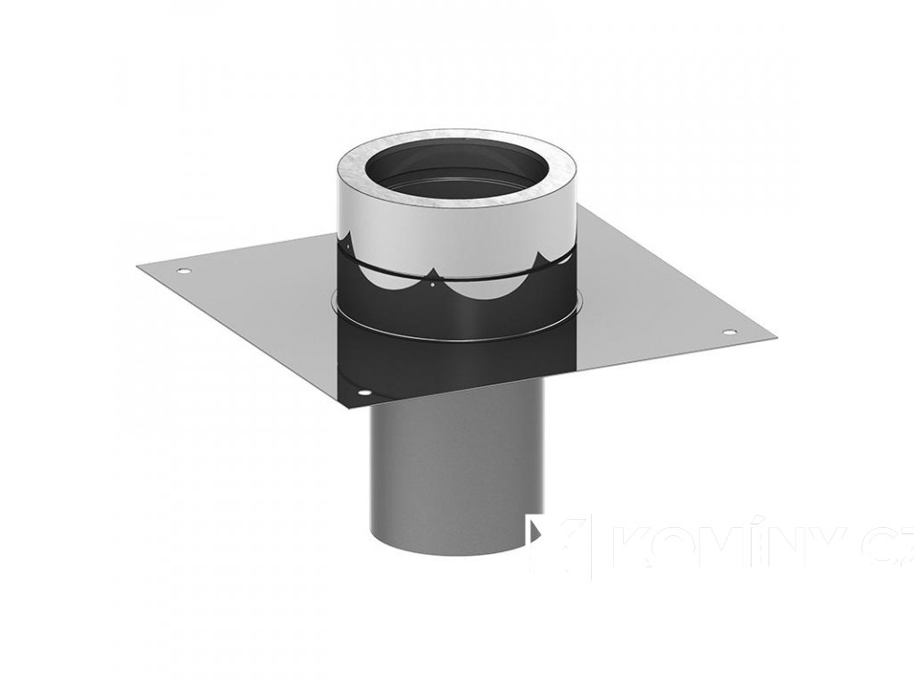 Základová deska pro nástavec kruhový zásun 160-25mm izolace