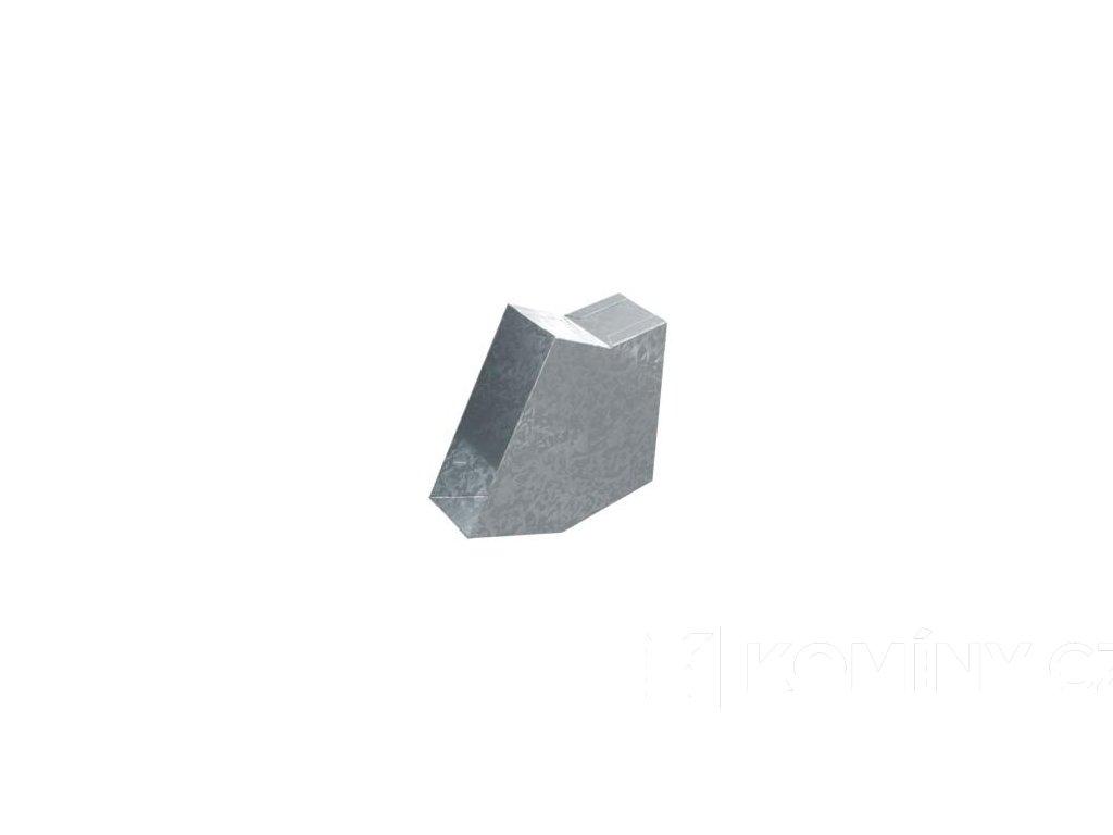 Kanál externího přívodu vzduchu koleno 30° 150x50mm