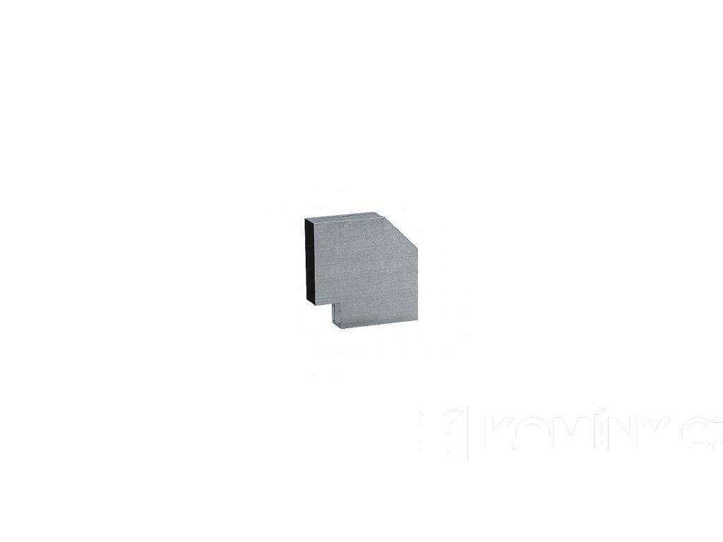 Kanál externího přívodu vzduchu koleno 90° 150x50mm