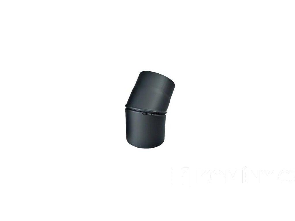 Kouřovod-koleno ke kamnům nastavitelné 150/0-45°/1,5