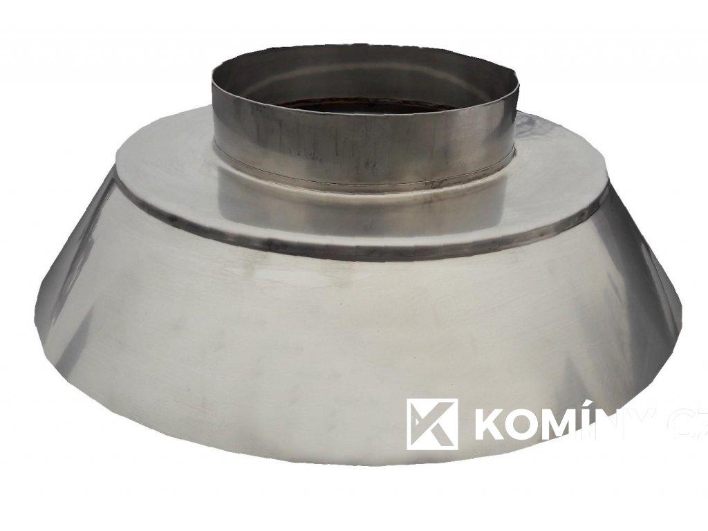 Konus ukončovací nerez 140 mm jednoprůduch