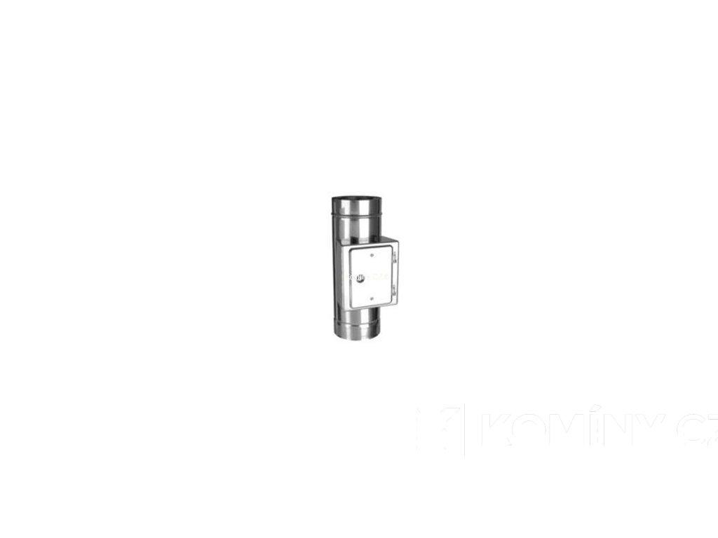 Čistící prvek nerezového komínu 150-500mm 0,5-25mm