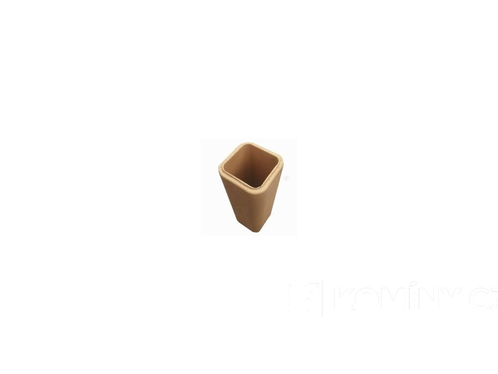 Komínová vložka keramická čtvercová 180x180x500mm