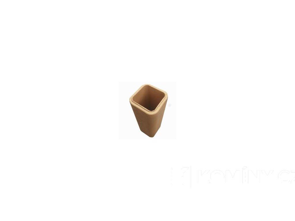 Komínová vložka keramická čtvercová 200x200x500mm