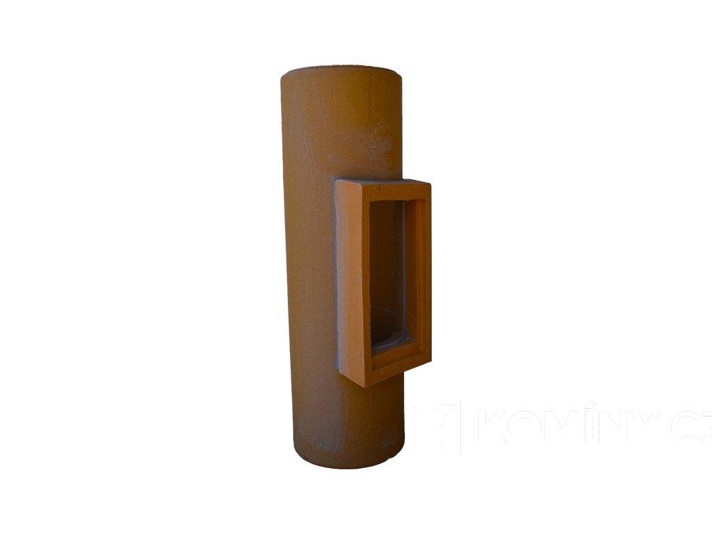 Komínová vložka keramická dvířka 180/660mm