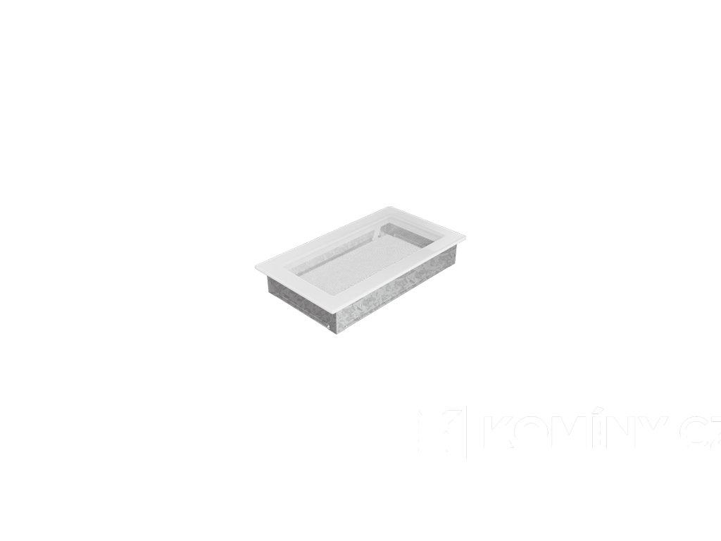 Krbová mřížka 110x320mm bílá
