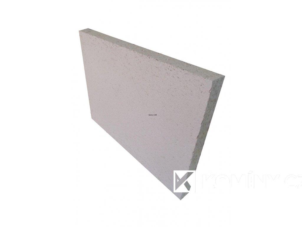 Šamotová deska 500x300x40 mm