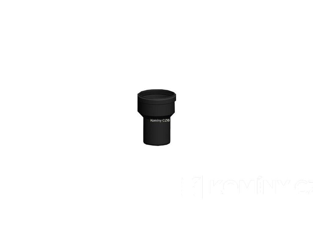 Přechod centrický PP pro kondenzační kotle 60/80mm