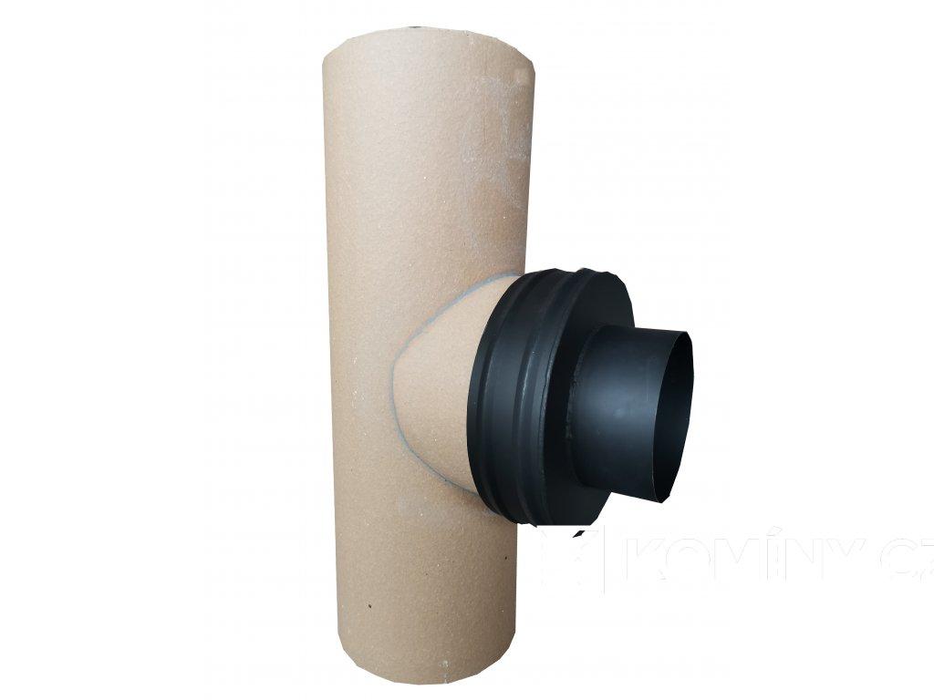Komínová redukce černá 200/160mm