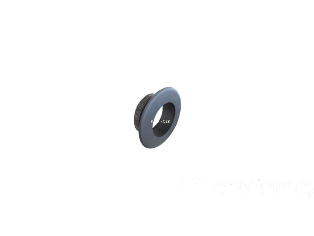 Komínová redukce černá vnitřní 200/160mm