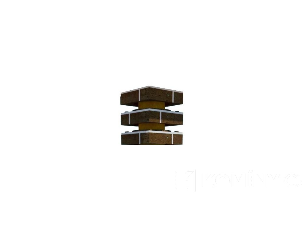 Sada pro navýšení prstenců DN 160-0,3 m hnědá