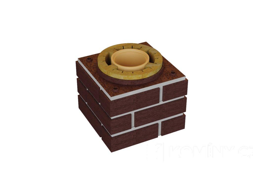 Sada pro navýšení prstenců DN 180-0,3 m hnědá