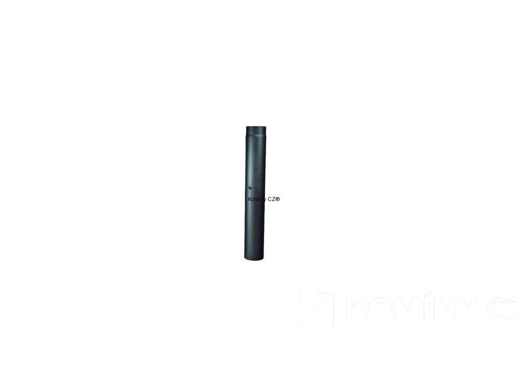 Kouřovod-trubka ke kamnům s čist.otvorem 120/500/1,5