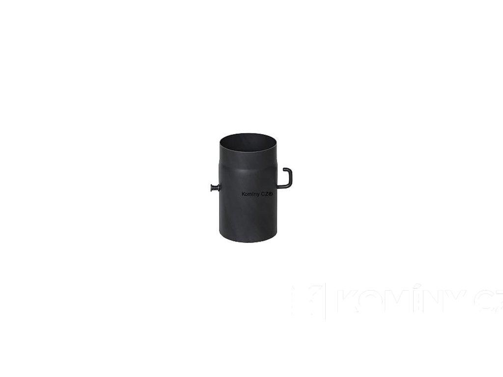 Kouřovod-trubka ke kamnům s klapkou 160/250/1,5