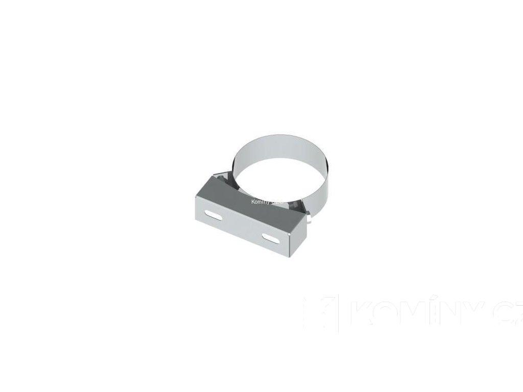 Držák koncentrického komínu 80-125 odstup 50-150mm