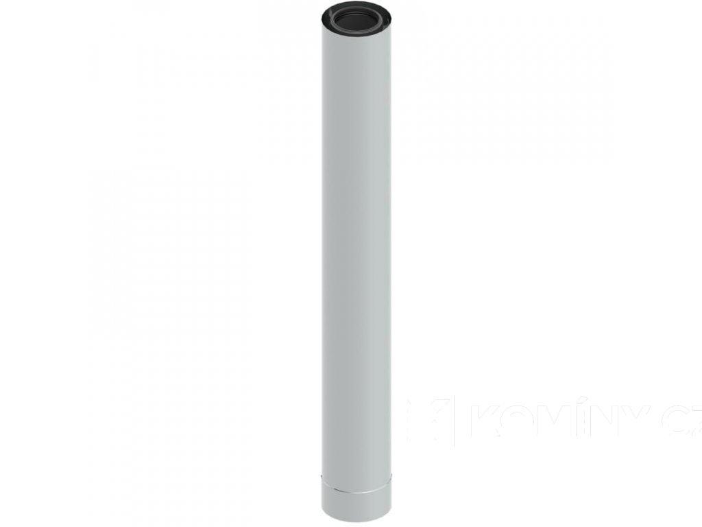 Koncentrická trubka 80-125 délka 1000mm