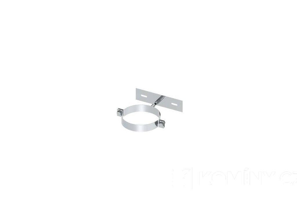Upevňovací spona 2-dílná pro nerez vložky 150 mm