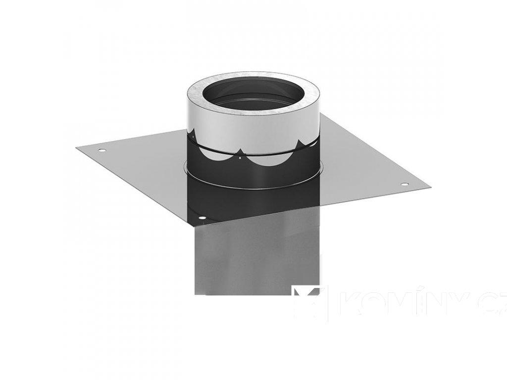 Základová deska pro nástavec čtvercový zásun 180x180/180-25mm izolace