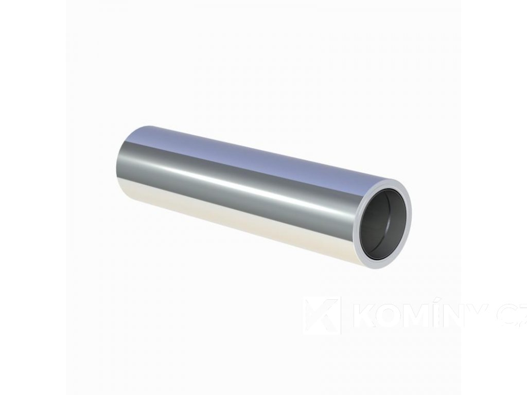 Nerez prodloužení se zděří pro průchod zdí 180-1000mm 0,5-25mm