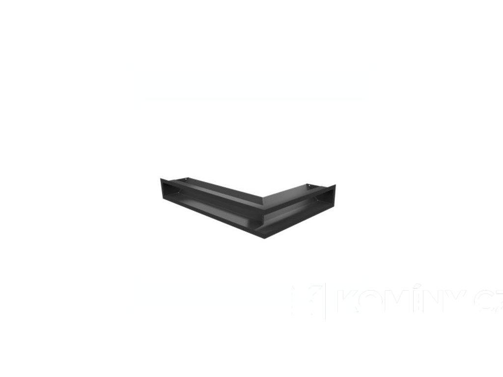 LUFT ROHOVÁ LEVÁ černá 60X40X9