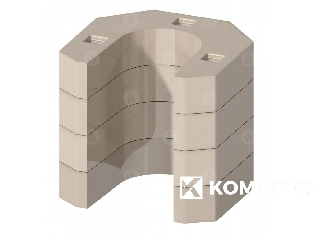 Akumulační sada pro krbová kamna (AKKUM 01)