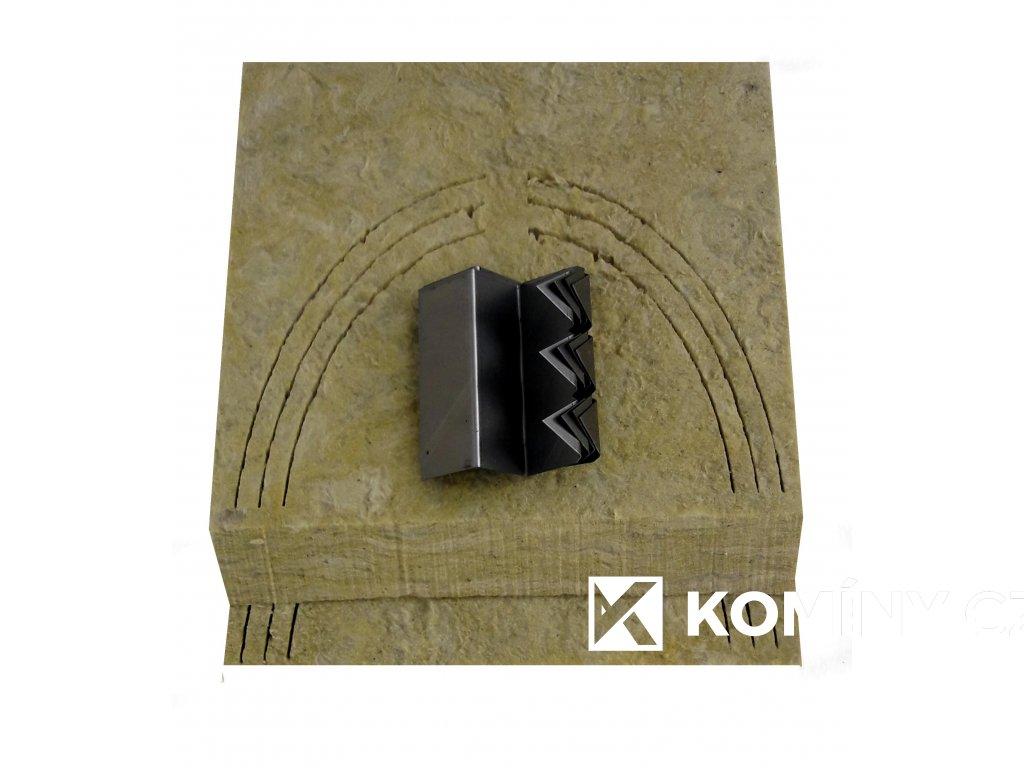 CDU45-deska čelní pro kouřovod 45°univerzální