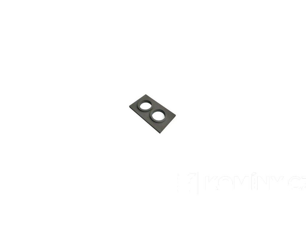 Komínová krycí dvouprůduch 830x480mm