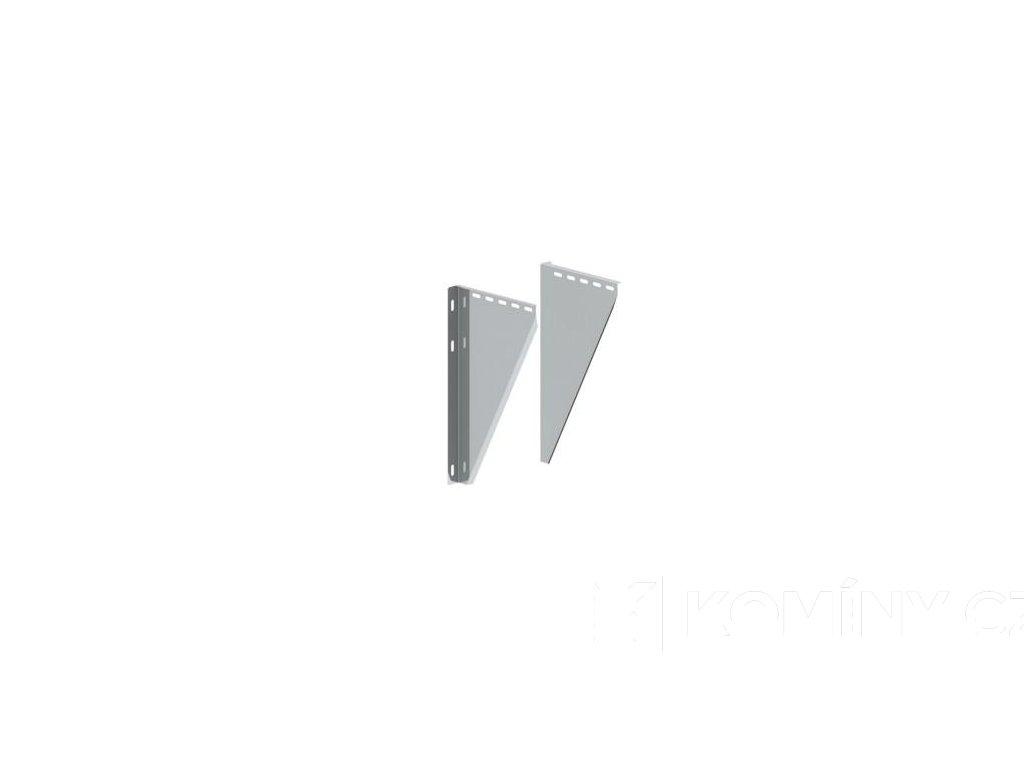 Plechové konzole odstup 50-150mm komín 150/25 mm izolace