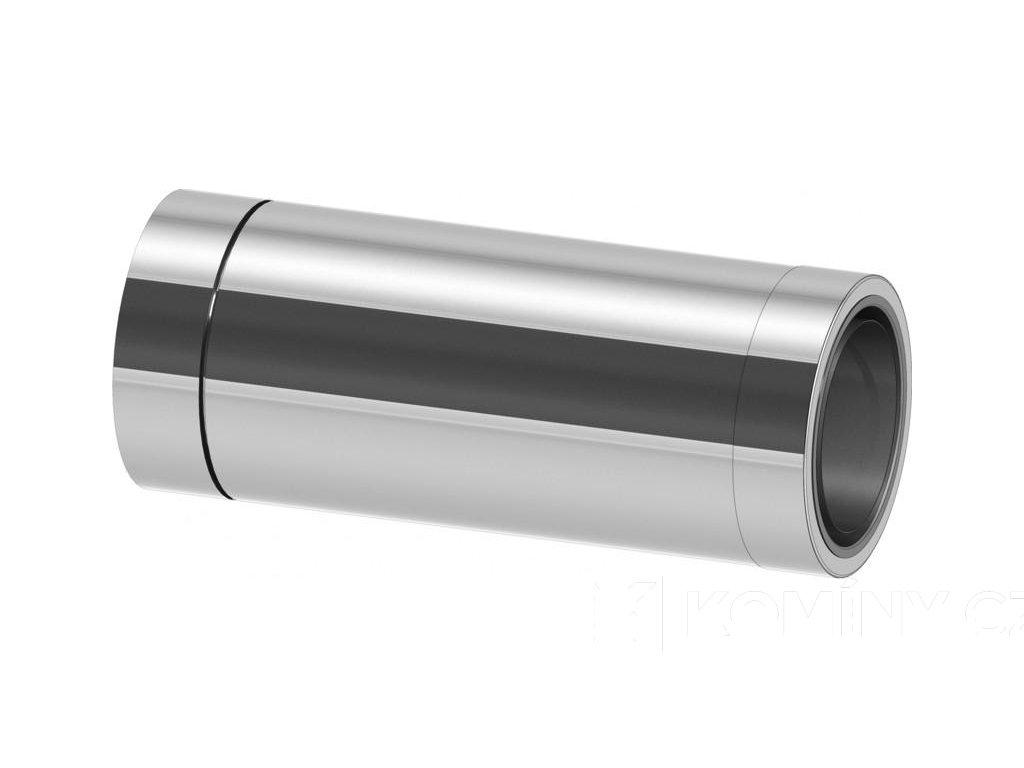 Nerez prodloužení se zděří pro průchod zdí 180-500mm 0,5-25mm