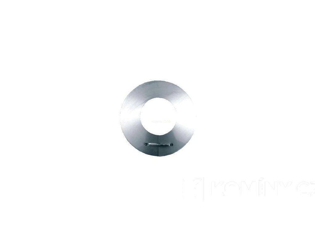 Límec pro nerezový izolovaný komín 180/25mm
