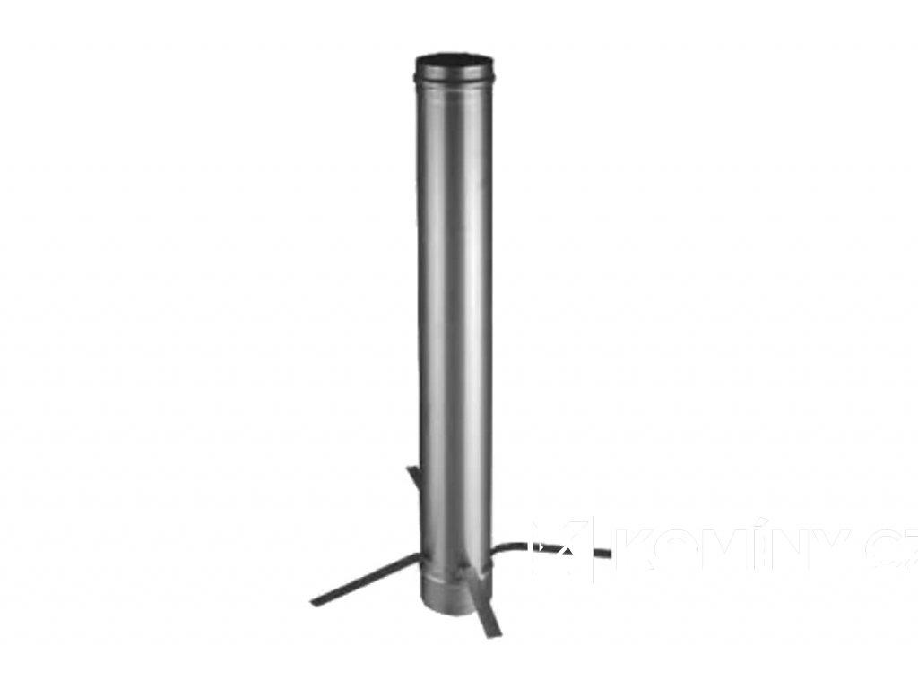 Komínová vložka nerez 1000mm 0,8-130mm