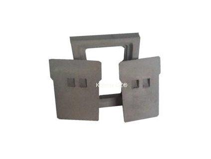 komínová dvířka dvojitá betonová OLD