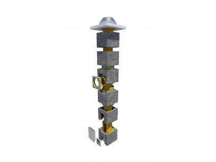 Komínová sestava 200mm-8m OM