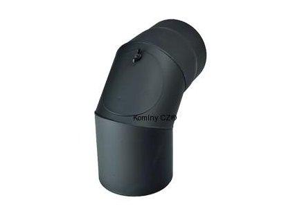 Kouřovod-koleno ke kamnům čistící 130/90°/1,5