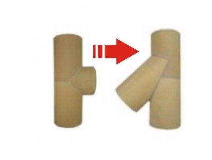 Výměna vložky kouřovodu v sestavě 160mm