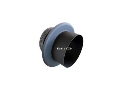 Komínová redukce černá vnitřní 160/150mm