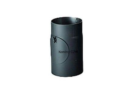 Kouřovod-trubka ke kamnům s čist.otvorem 130/250/1,5