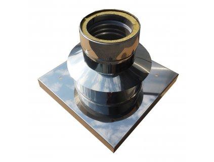 Základová deska pro nástavec s odvětráním 180mm/ 25mm