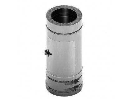 Čistící prvek nerezového komínu 140-500mm 0,5-25mm