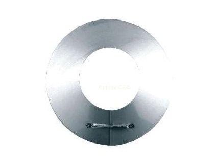 Límec pro nerezový izolovaný komín 200/25mm