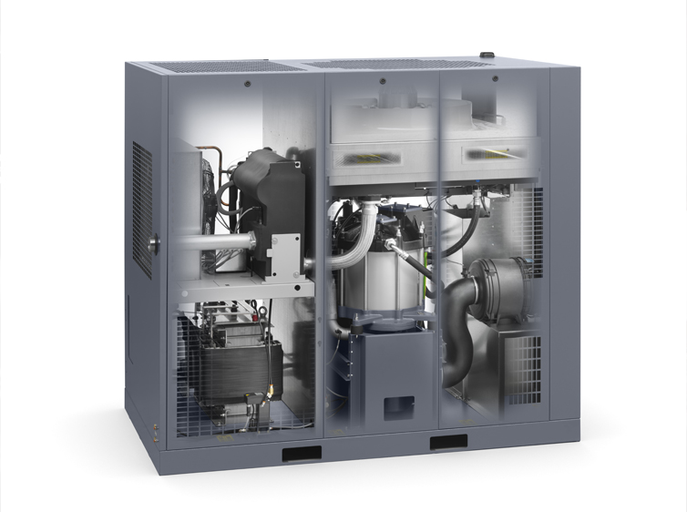 Kompresory Atlas Copco s technologií VSD+