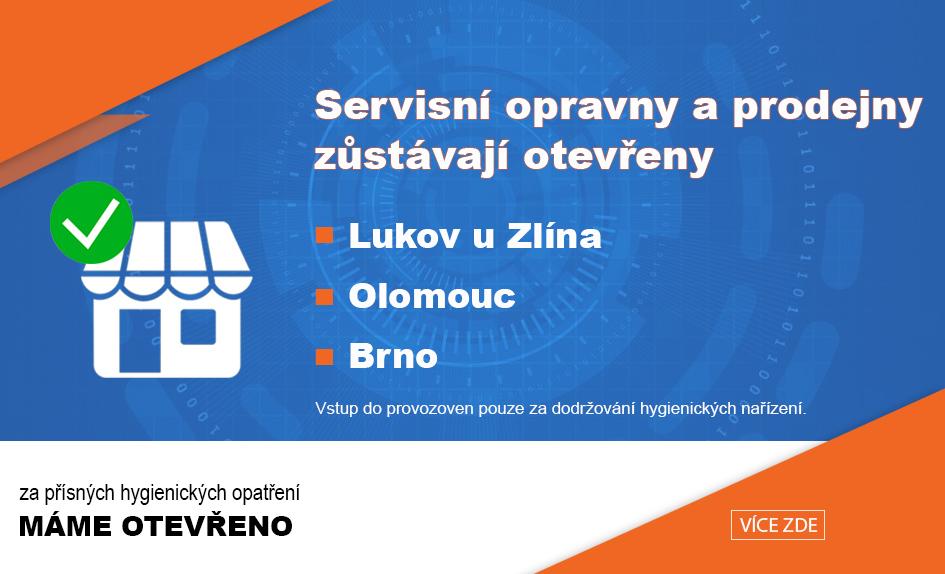 Otavření provozoven Lukov a Olomouc