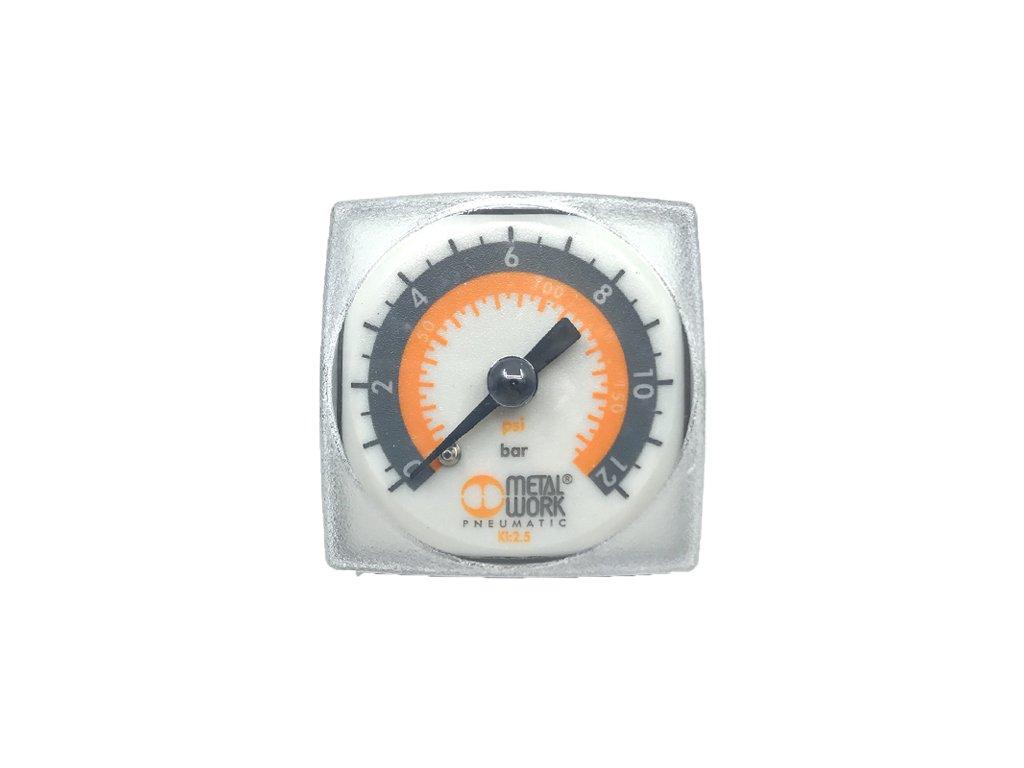 Manometr MetalWork 0-12 bar, G 1/8''