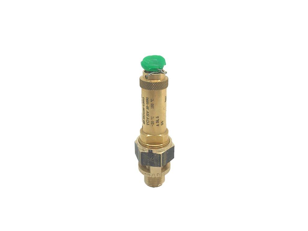 "V-Pojistný ventil HEROSE, G1/2"", 10 bar, sv.12mm"