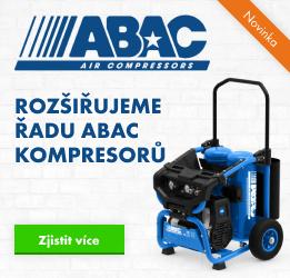 ABAC - rozšíření řady odhlučněných kompresorů Super Silent OS