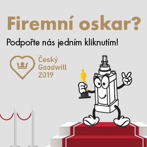 """Podpořte naše vize a snahu pro """"Firmového oskara"""" - Český GoodWill"""