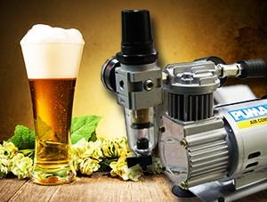 Máte ten správný kompresor pro čepování piva?