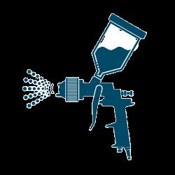 Jak vybrat stříkací pistoli pro aplikaci barev?