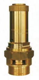 Pojišťovací ventily pro stlačený vzduch a interní plyny
