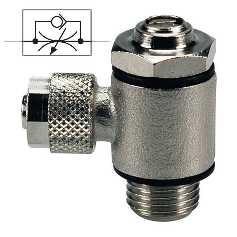 Škrtící ventil na odfuku